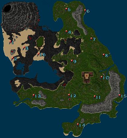 Britania Island Map