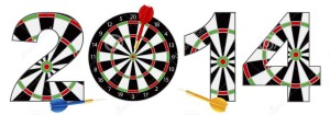 2014-new-year-dartboard-darts-illustration-28628609