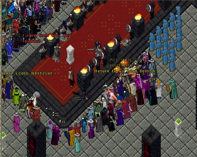 Old straticslord british archives old stratics looking around lord british and the king began talking as old friends catching up welcome back old friend and enemy king blackthorn said clapping lord m4hsunfo